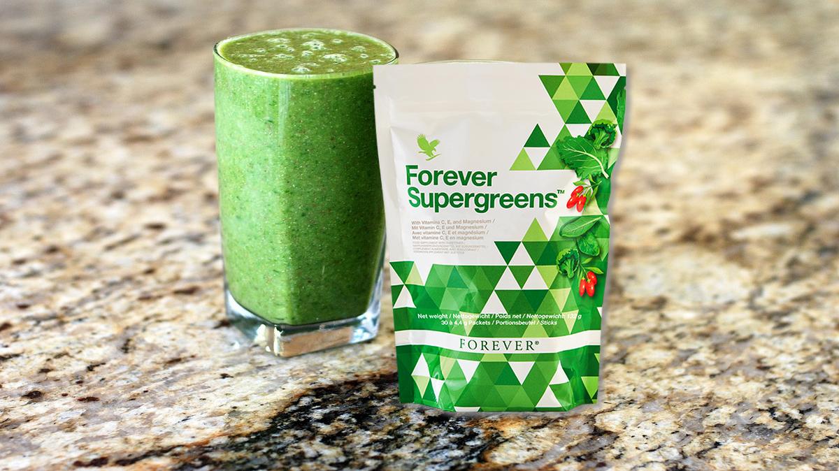 Forever super green flp aloe christine